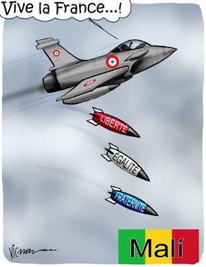 Mali bombas