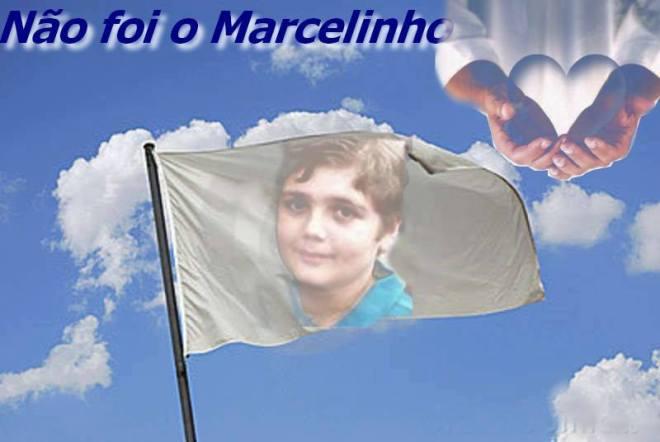 Não foi o Marcelo Eduardo Bovo Pesseghini. Cartazete de campanha na internet