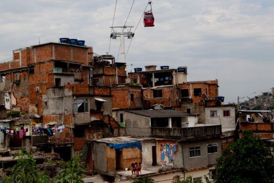 pax Complexo do Alemão, um grupo de favelas na zona norte do Rio.