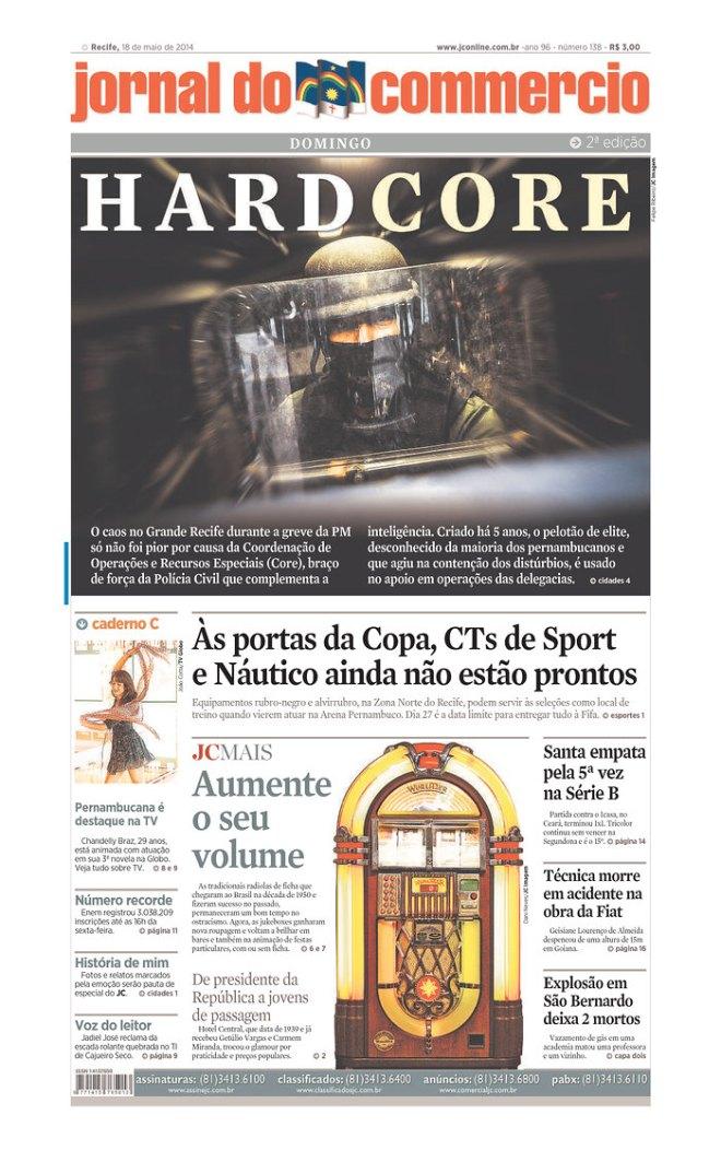 A polícia civil de Pernambuco