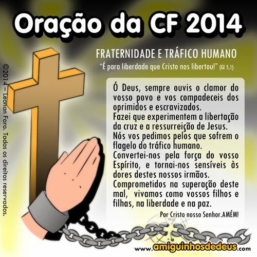 oração campanha fraternidade