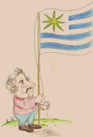 Presidente Pepe Mujica do Uruguai, por Gusmão