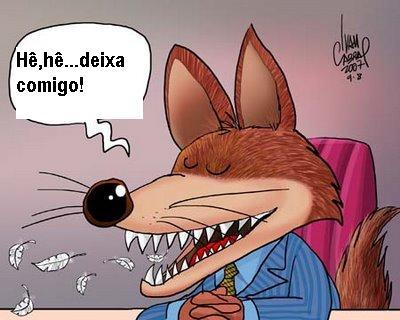 Resultado de imagem para imagens da raposa politica