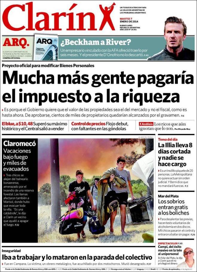 ar_clarin. imposto da riquza argentina