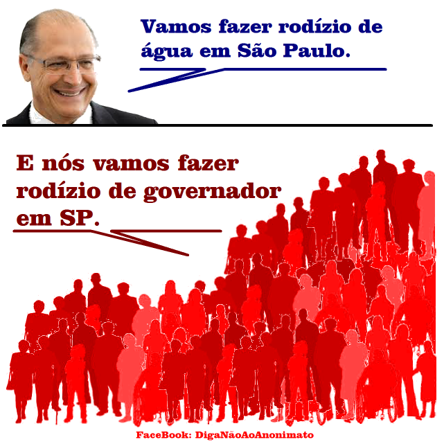 água Alckmin São Paulo