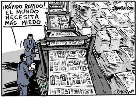 medo imprensa jornalismo terror