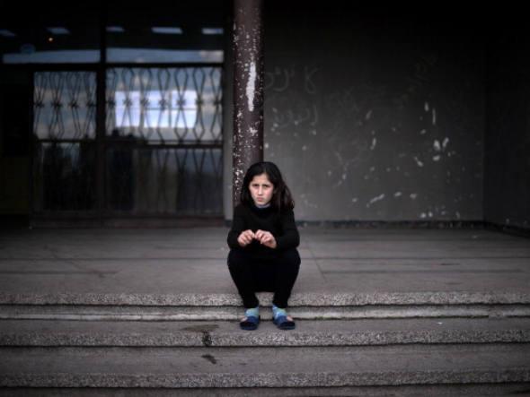 Podia ser uma das 500 mil crianças prostitutas do Brasil. Graças a Deus, a Jeová e Alá, esta não é