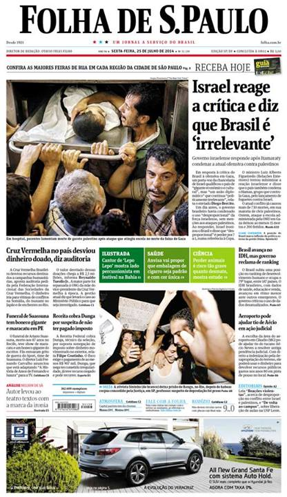 Brasil é irrelevante Israel Gaza