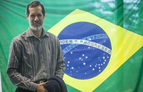 O candidato à presidência pelo PV, Eduardo Jorge. / BOSCO MARTÍN