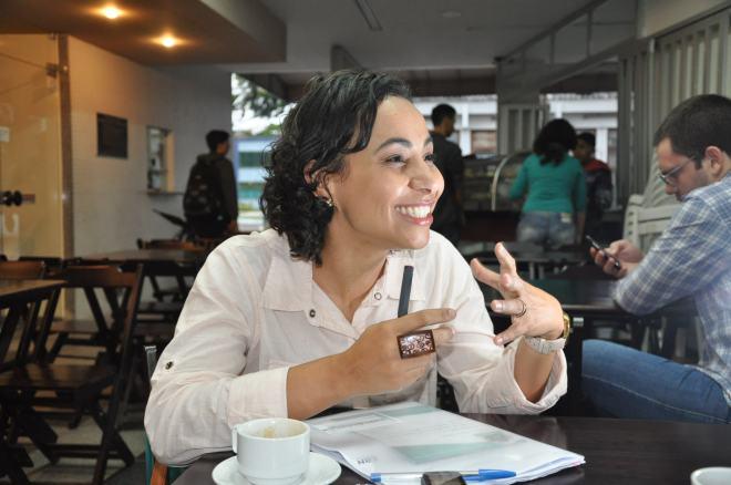 Camila Valadão diz não ter medo de governar o Espírito Santo. Foto: Andressa Mian
