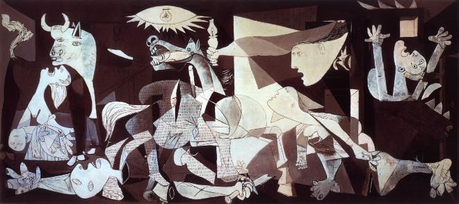 Guernica, por Picasso