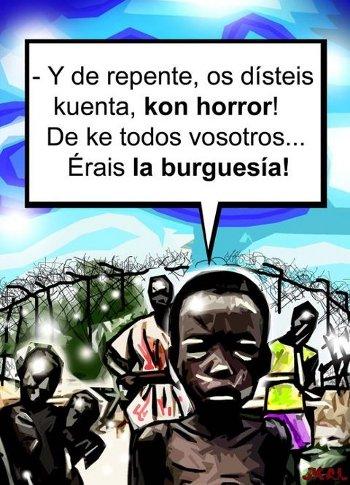 indignados imperialismo burguesia