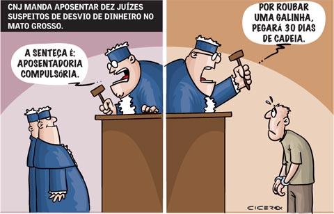justiça quando condena juiz