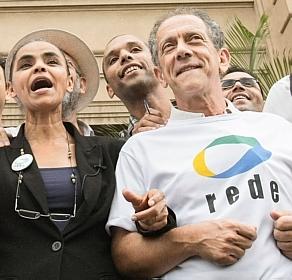 Marina Silva e WalterFeldman