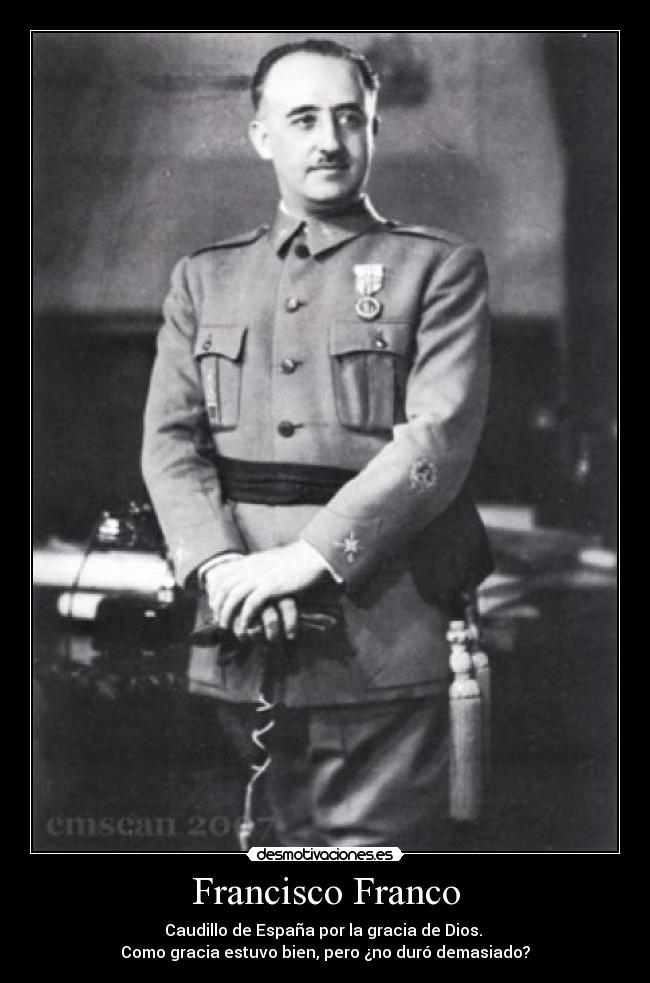 retrato de Franco