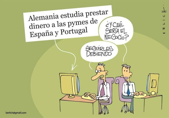 Alemanha banco troika Espanha Portugal dívida