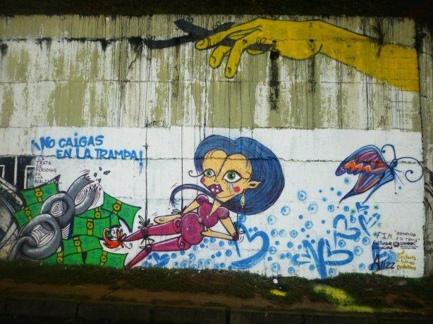 azul mural
