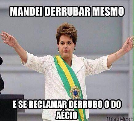 Dilma avião