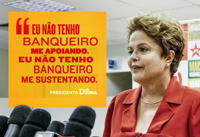 Dilma banco neca banqueiro