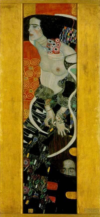 Judith, por, Gustav Klimt, 1909