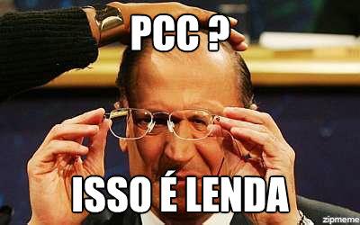 Alckmin, em ano eleitoral, evitar falar em PCC
