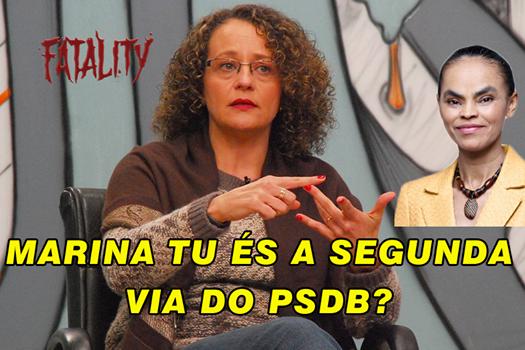 Luciana Genro, candidata à presidência pelo PSOL