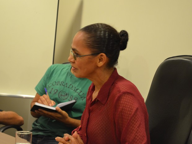 Maria Deuzimar da Silva Vieira, de 59 anos, irmã mais velha de Marina Silva