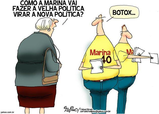 Nova política Marina Alpino botox