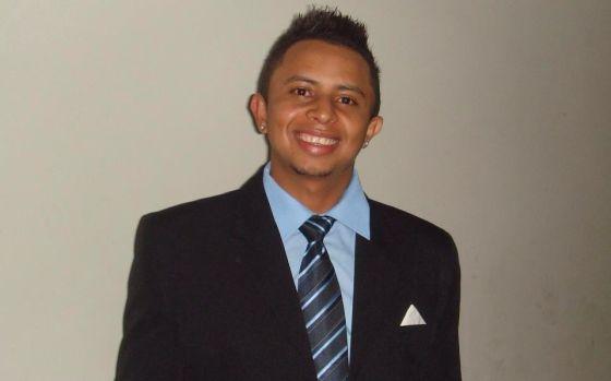 O ambulante Carlos Augusto Braga