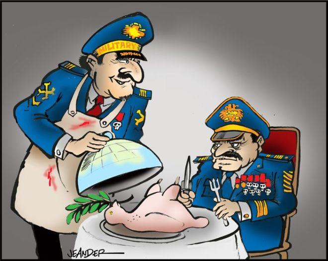 paz ditadura militar guerra