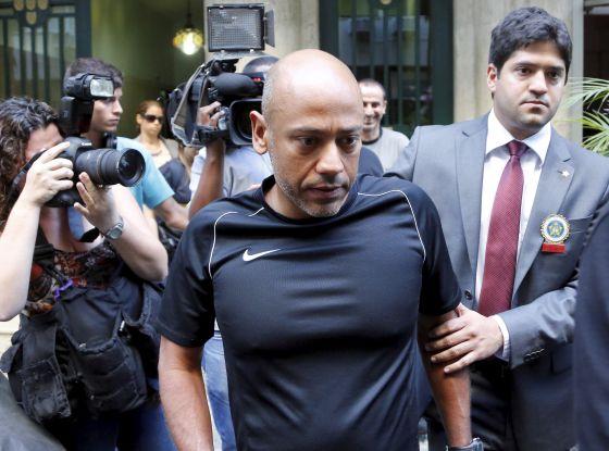 Prisão do coronel da Polícia Militar do Rio de Janeiro, Alexandre Fontenelle, nesta semana: PABLO JACOB