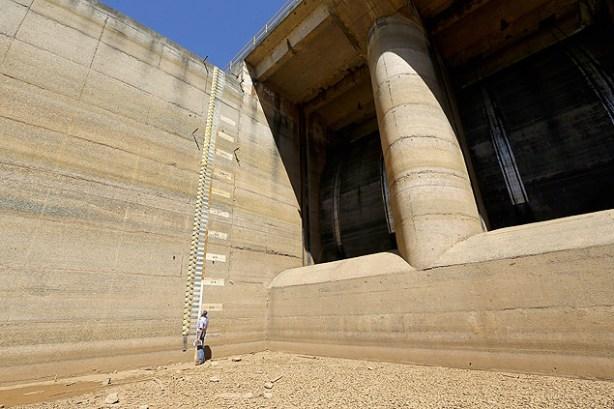 1 represa do sistema cantareira na Grande São Paulo