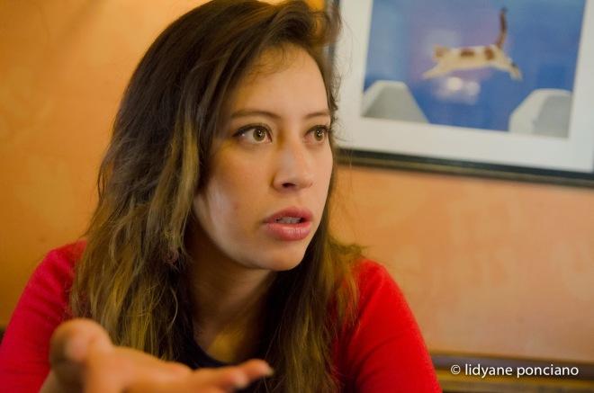 Valeria Silva. Fotografada por Lidyane Ponciano
