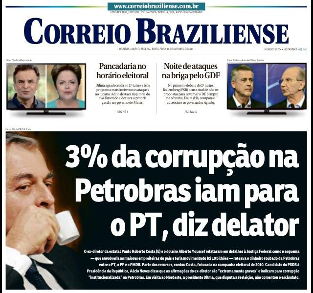 MENTIRA DO CORREIO BRAZILIENSE