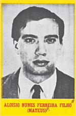 """Foto de Aloysio Nunes em um dos cartazes de """"procurados"""" da ditadura de 64"""