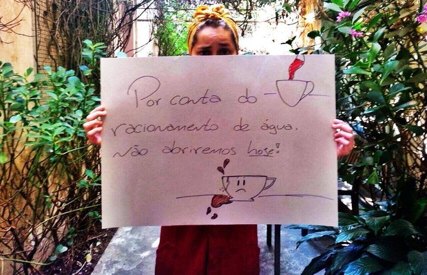 Café na Vila Madalena: fechado