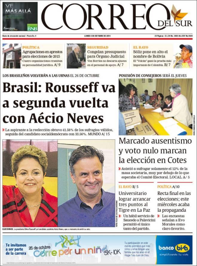 correo_sur. Bolívia