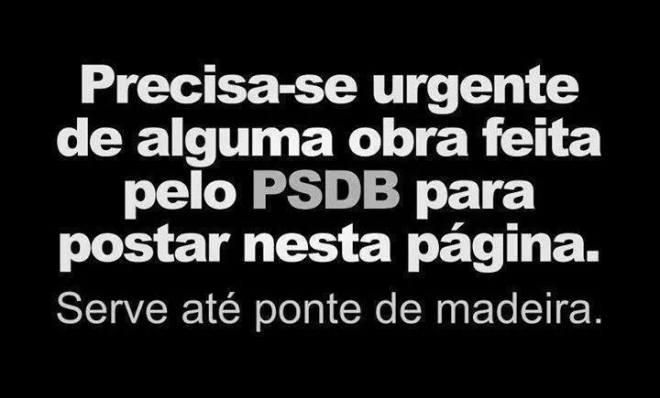 obra PSDB