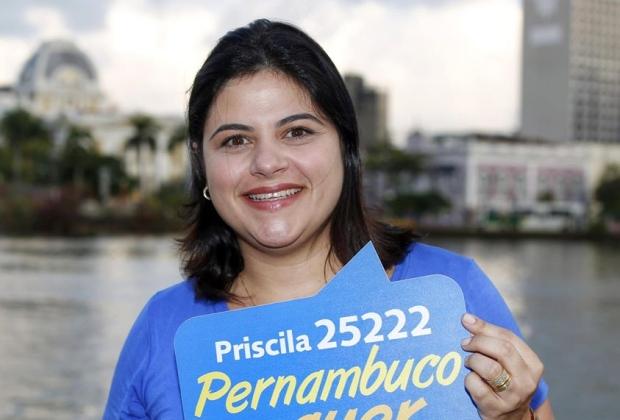 Priscila Krause foi eleita fazendo campanha só na internet