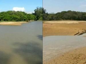 Reservatórios chegam a apontar 2% de água em Itu (Foto:TV TEM)