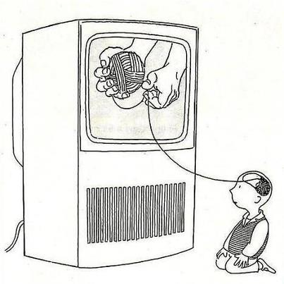 tv pensamento opinião controle indignados