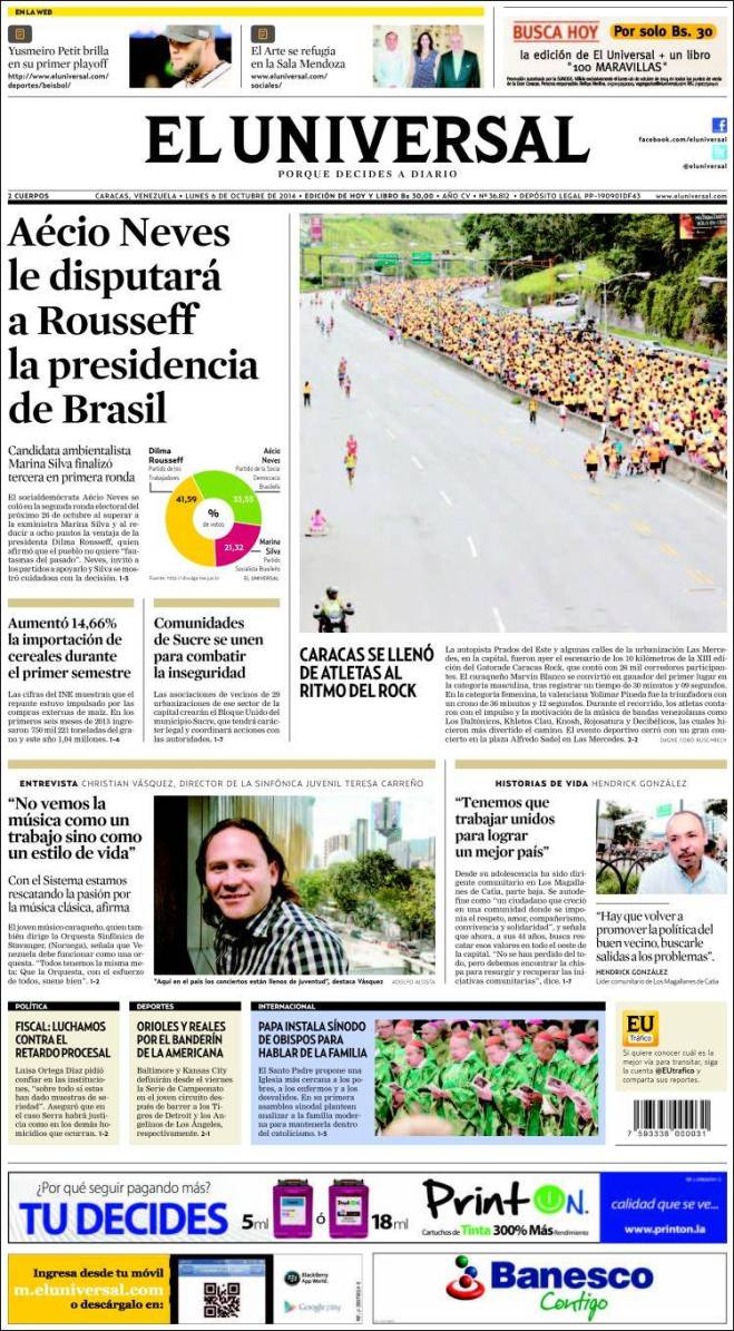 ve_universal. Venezuela