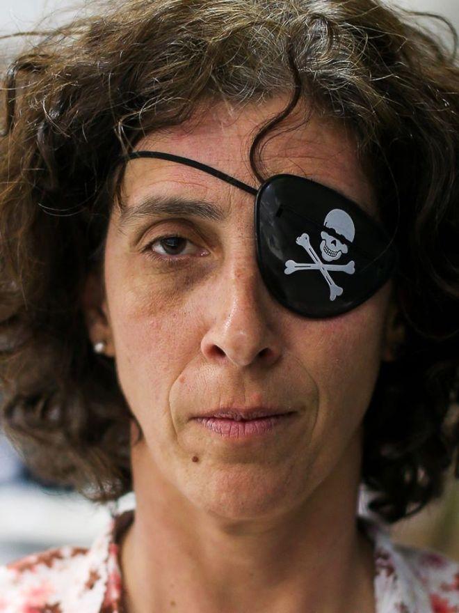 A jornalista Marlene Bergamo foi espancada quando filmava a marcha nazista