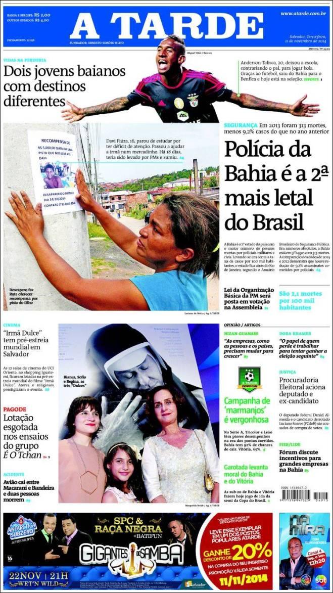 As polícias da Bahia e São Paulo na disputa do segundo lugar