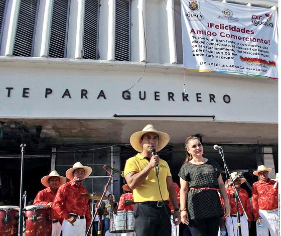 El Alcalde de Iguala, José Luis Abarca, y su esposa María de los Ángeles Pineda | AGENCIA REFORMA