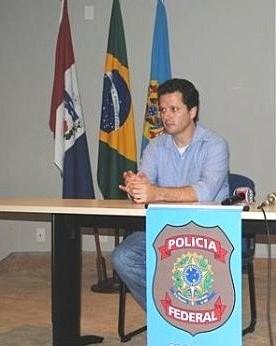 Igor Romário de Paula, da Delegacia Regional de Combate ao Crime Organizado