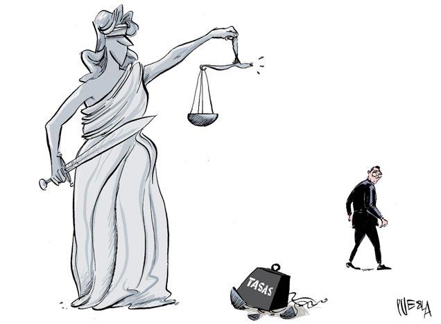 justiça taxas