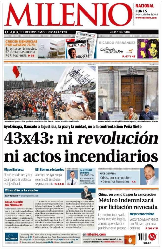 Jornal mexicano hoje