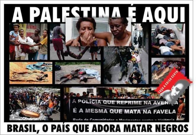 negro favela polícia assassinato pobre