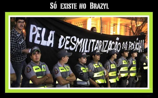 polícia desmilitarização